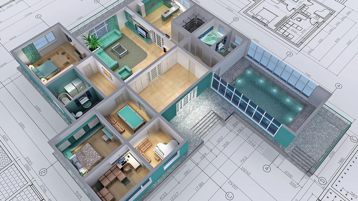 Planung und 3d visualisierung